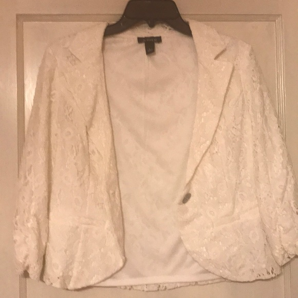 Amy Byer Jackets & Blazers - Amy Byer Lace Jacket !!!!